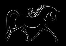 Elegant horse Royalty Free Stock Image