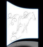 Elegant horse Stock Photos