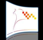 Elegant horse Royalty Free Stock Photography