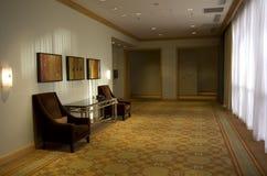 Elegant hotel corridor Stock Photo