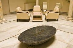 Elegant hotel lobby. Horizontal composition Royalty Free Stock Photo