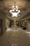 Elegant hotel lobby Royalty Free Stock Photography