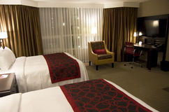 Elegant hotel room Royalty Free Stock Photo