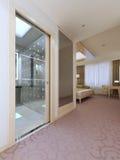 Elegant hotelllägenhetdesign Arkivbild