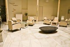 elegant hotelllobby Arkivbild
