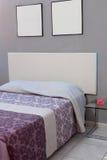 Elegant house bedroom interiors Stock Image