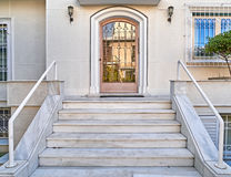 Elegant house entrance Stock Photo