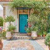 Elegant house entrance Royalty Free Stock Photo