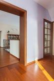 Elegant huis - Ingang royalty-vrije stock foto