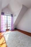 Elegant huis - Lege ruimte royalty-vrije stock foto's