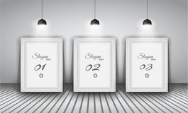 Elegant infographics design template Stock Photos