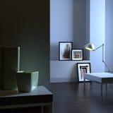 Elegant interior (dawn) Royalty Free Stock Photography