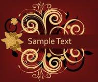 Elegant invitation card Stock Images