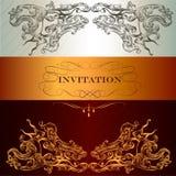 Elegant invitation card Royalty Free Stock Photo