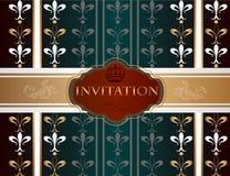 Elegant invitation card for design Royalty Free Stock Photos