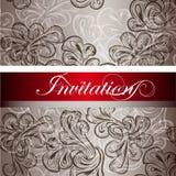 Elegant Invitation Card For Design Royalty Free Stock Photography