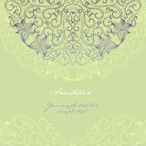 Elegant invitation cards Stock Image