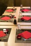 Elegant japanese / chinese restaurant Stock Photography