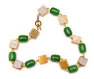 The elegant jewellery isolated on the white background Stock Photos