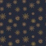 Elegant Kerstmispatroon Royalty-vrije Stock Fotografie