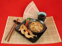 elegant kinesisk matställe royaltyfri bild