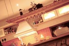 Elegant kitchen stock image