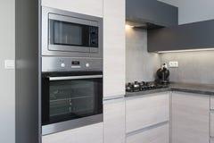 Elegant kitchen interior Stock Photography