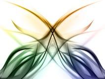Elegant kleurrijk regenboogOntwerp vector illustratie