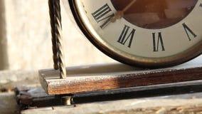 Elegant klocka för roman tal lager videofilmer