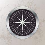 Elegant kompass Arkivfoton