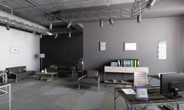 Elegant kontorsinre Blandat massmedia Fotografering för Bildbyråer