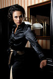 elegant kvinna royaltyfri foto