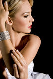 elegant kvinna Arkivfoto