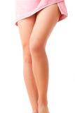 elegant kvinna för ben s Royaltyfria Bilder