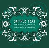 Elegant label easy to modify. Vector background with editable label Stock Photo