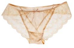 Elegant lace panties Stock Photos
