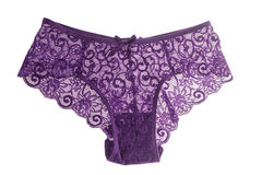 Elegant lace panties Stock Photography