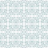 Elegant lace pattern with grey shapes on white Royalty Free Stock Images