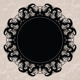 Elegant lacy doily Royalty Free Stock Photography