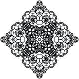 Elegant lacy doily. Stock Photo