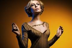 Elegant lady Stock Image