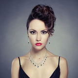 Elegant lady Royalty Free Stock Photography