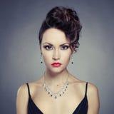 Elegant lady Royaltyfri Fotografi