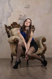 Elegant lady Royalty Free Stock Photos