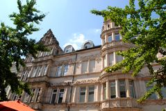 Elegant large and important building in Heidelberg Germany Stock Photo
