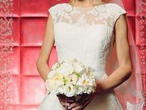 Elegant Lave Wedding Dress Royalty Free Stock Photography