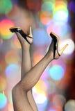 Elegant legs Stock Images