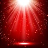 Elegant lights shining with flying sparks background. Vector illustration of Elegant lights shining with flying sparks background Stock Photos
