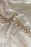 Elegant  linen fabric texture background Stock Photography