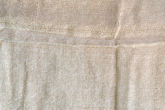 Elegant  linen fabric texture background Royalty Free Stock Photos